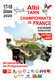 Report des  Championnats de France