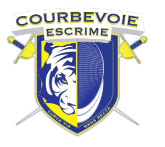 Circulaire d'inscription au Circuit de Courbevoie fleuret et épée