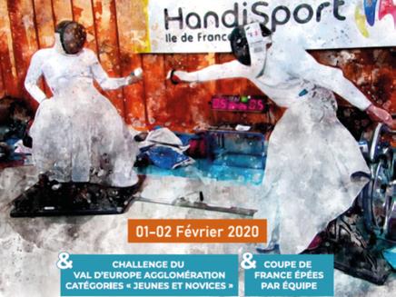 Circulaire d'inscription Challenge Anne Parent, Coupe de France épée et Tournoi Jeunes