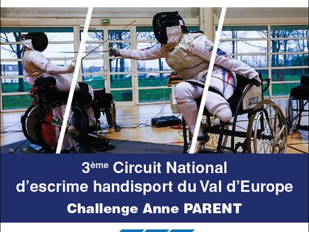 Résultats du Challenge Anne Parent - Circuit du Val d'Europe