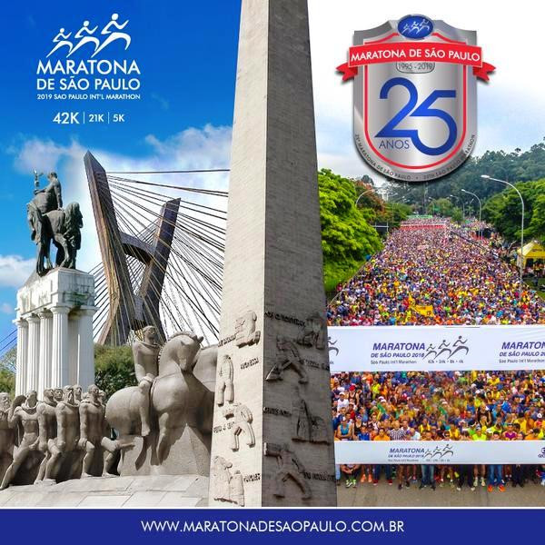 25ª Maratona Internacional de São Paulo 2019