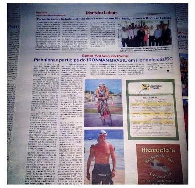 Matéria Jornal Serra da Mantiqueira - Agosto 2013