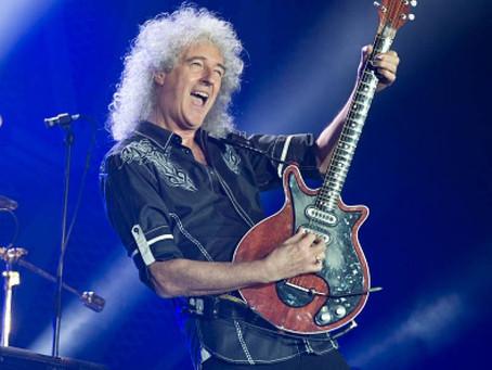 """Queen: Brian May sufrió ataque al corazón que le dejó """"muy cerca de la muerte"""""""