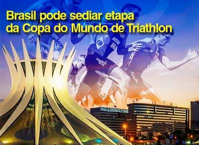 Brasil está concorrendo a sediar etapa da Copa do Mundo de Triathlon