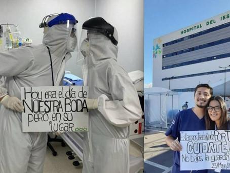 """""""Hoy era el día de nuestra boda"""", la historia de doctores ecuatorianos que luchan contra e"""
