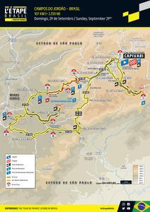 Novo Percurso Letape 107 km 2019