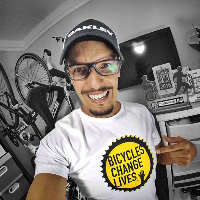 Ramon NadaPedalaCorre bicycles change lives