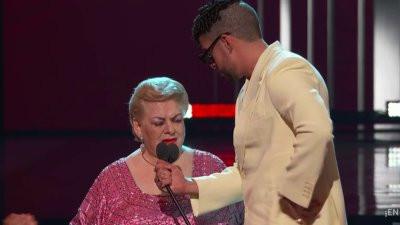 """Paquita la del Barrio llamó """"inútil"""" a Bad Bunny en los Billboard Latin Music Awards"""