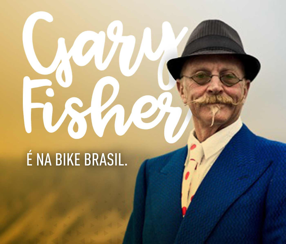Gary Fisher da palestra na Bike Brasil