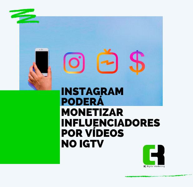 Instagram poderá pagar influenciadores por anúncios