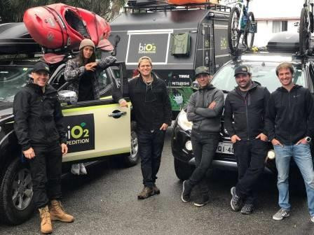 biO2 Expedition embarca na segunda jornada