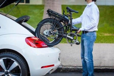 Modelo dobrável E-bike da Sense