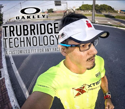 Tecnologia do Trubridge permite encaixes perfeito a qualquer rosto e proteção extra nas lentes.