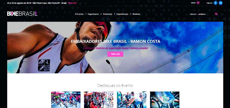 Embaixador Bike Brasil Show - Ramon Costa