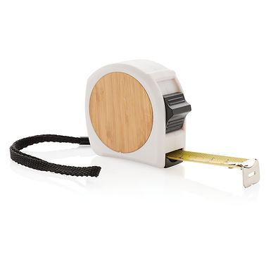 Bamboo measuring tape 5M/19mm