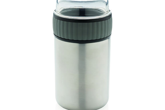 2-in-1 vacuum lunch flask