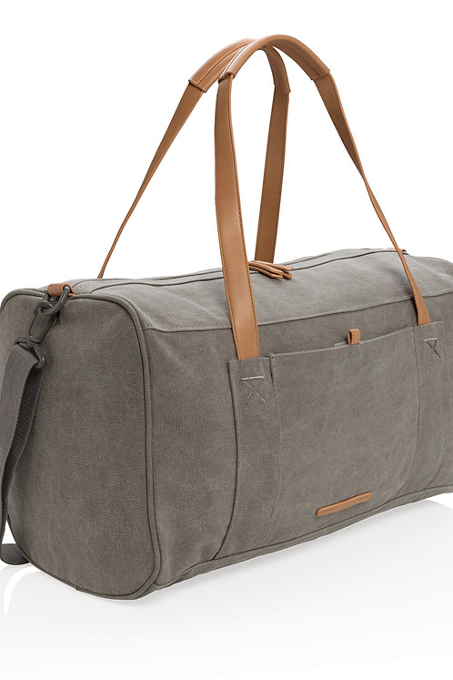 Canvas travel/weekend bag PVC free