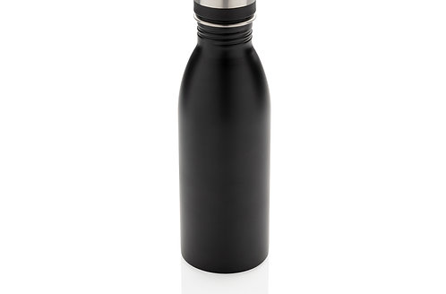 Deluxe stainless steel water bottle