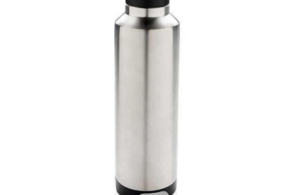 Vacuum flask with wireless speaker