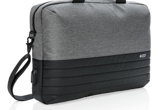"Swiss Peak RFID 15.6"" laptop bag"