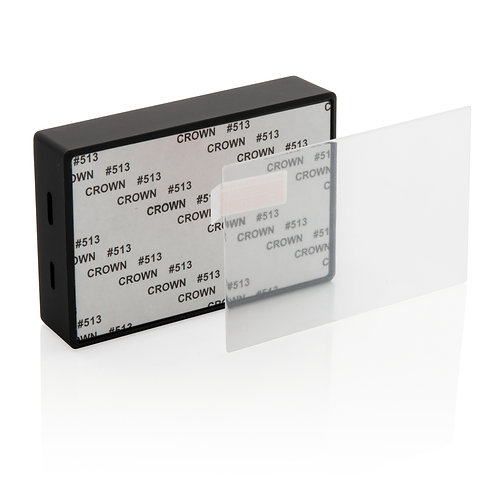 Tempered glass 3W wireless speaker