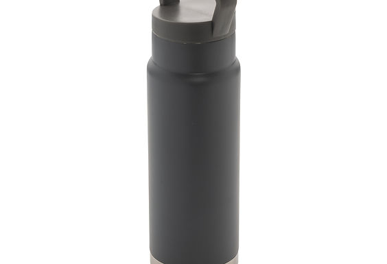 Leakproof vacuum on-the-go bottle with handle