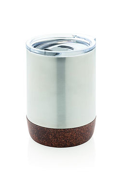 Cork small vacuum coffee mug