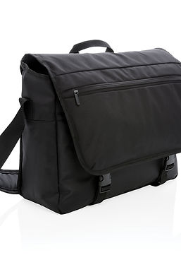 """Swiss Peak RFID 15"""" laptop messenger bag PVC free"""