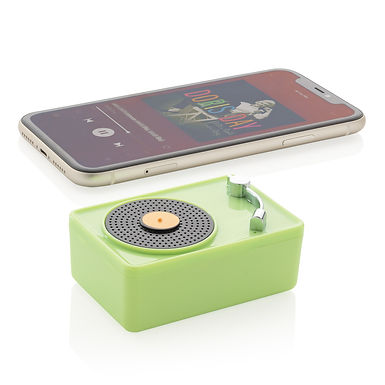 Mini Vintage 3W wireless speaker