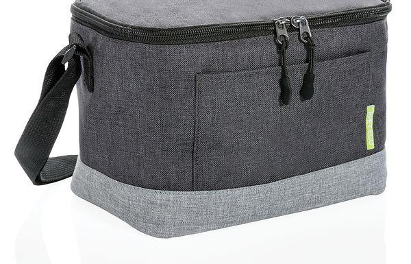 Duo colour RPET cooler bag
