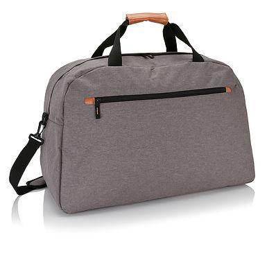 Fashion duo tone travel bag
