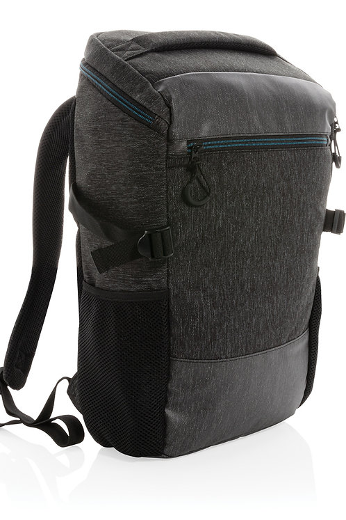 "900D easy access 15.6"" laptop backpack PVC free"