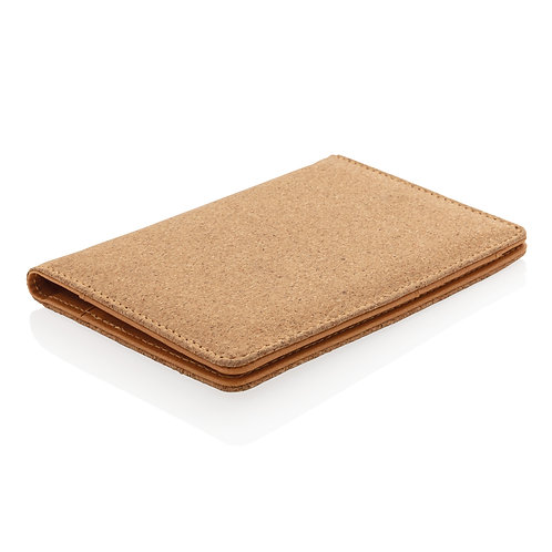 ECO Cork secure RFID passport cover