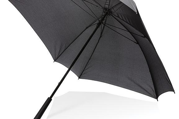 "27"" manual XL logo space square umbrella"