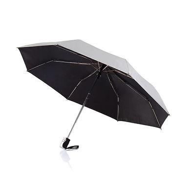 "Deluxe 21,5"" 2 in 1 auto open/close umbrella"