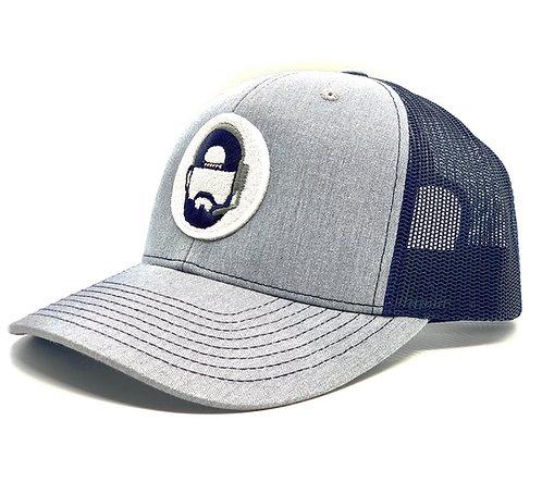 The Commish Hat - Navy/Heather Grey