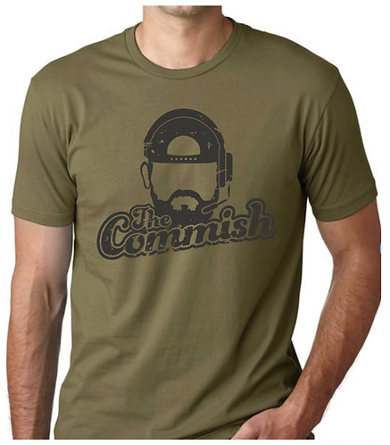 The Commish Tee — MILITARY GREEN
