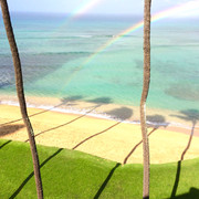 Double Rainbows are the Best part of a Morning Shower!