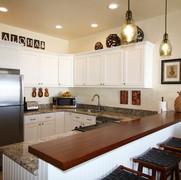 Modern, fully stocked Kitchen.