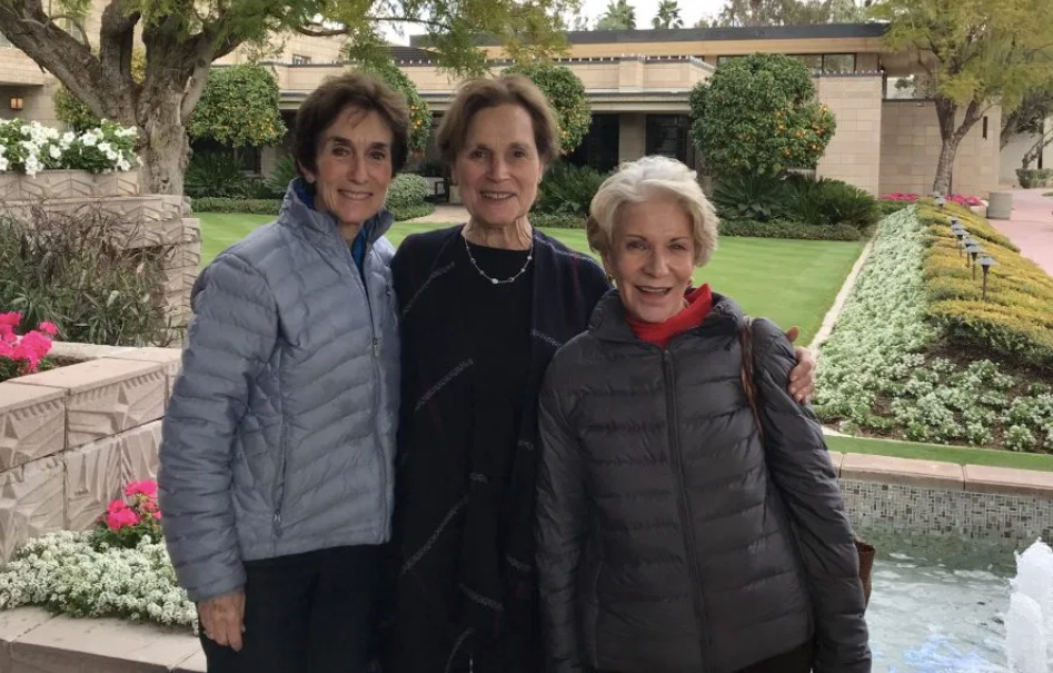 From L-R: Helen Dennis, Laura McKirdy, Suzanne Franks. (Photo courtesy of Helen Dennis)