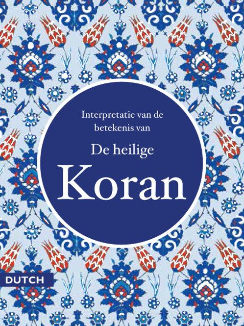 Quran in Dutch