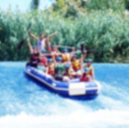 Rafting blanca