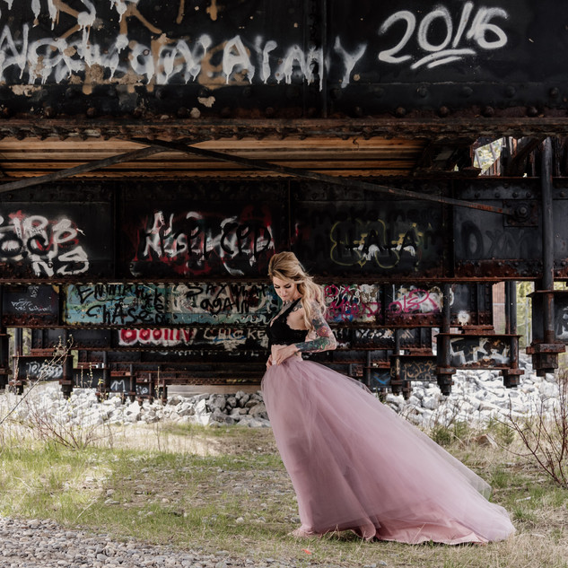 Cerra ~ Pink Skirt