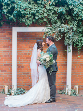Eucalyptus make a beautiful touch of whimsy to your special day!