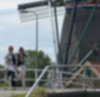 Holland Maasland Liezet Arnold Master Florist Bloem Decor Windmill