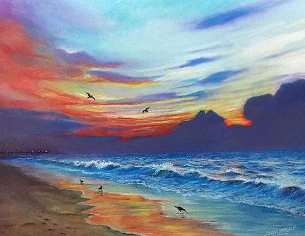 21. Sunrise-Pastel-24X30-original and pr