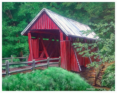 4. Campbell's Covered Bridge 11X14 (HiRe