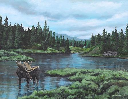 McLean Creek-18X24 acrylic on canvas-Ori