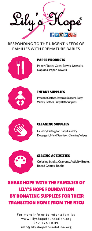 Lily's Hope Foundation Supply List.png