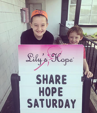 Share Hope Saturday